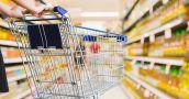 Las ventas en los supermercados cayeron un 4,9% en términos reales
