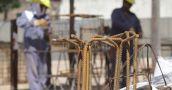 El empleo registrado en la construcción bajó un 32,1% en octubre