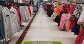 En un año la venta de indumentaria en los supermercados cayó un 37,1% en términos reales