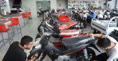Cayó un 52,8% la venta de motos en la provincia
