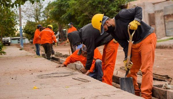 En mayo creció un 120,7% el empleo registrado en la construcción