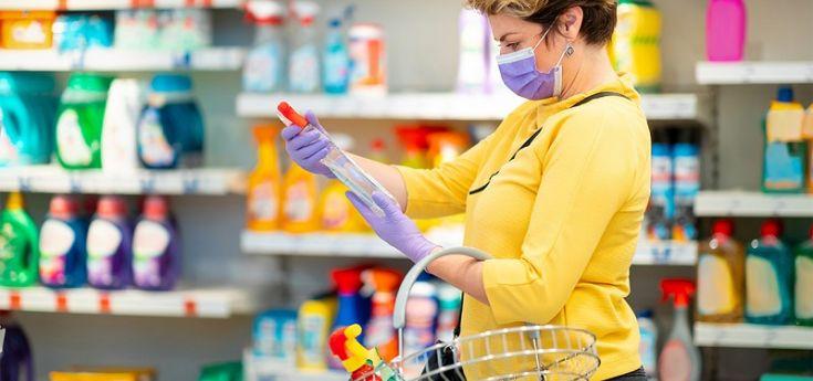 Supermercados: bajó casi un 5% el consumo de artículos de limpieza y perfumería