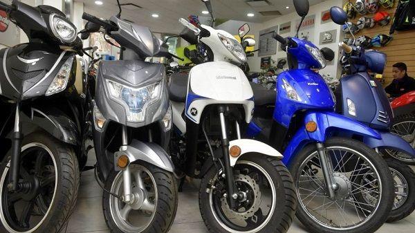 La venta de motos en la Provincia cayó un 64,7% en mayo