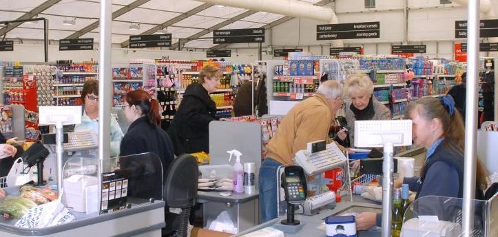 Las ventas en los supermercados riojanos cayeron un 25,9% en marzo