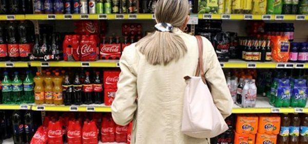 El consumo de bebidas en los supermercados riojanos cayó un 18,5%