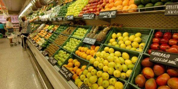 El consumo de frutas y verduras en supermercados cayó un 1,3% en junio con respecto a mayo