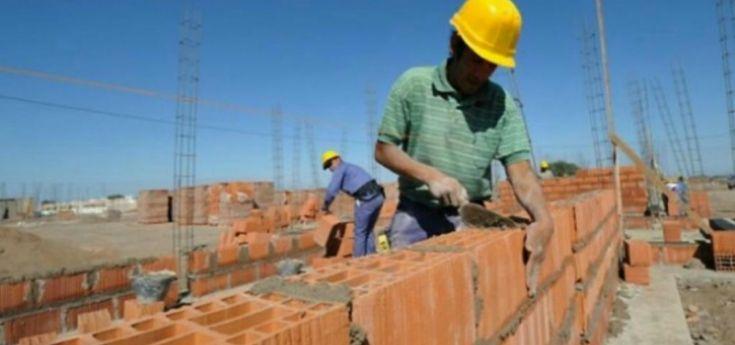 El empleo formal en la construcción retrocedió un 21,8% en julio